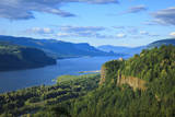 USA, Oregon, Chanticleer Point, Vista House and the Columbia Gorge. Photographic Print by Rick A. Brown