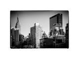 Cityscape with the Empire State Building and the New Yorker Hotel Photographic Print by Philippe Hugonnard