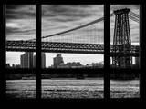 The Williamsburg Bridge at Nightfall - Lower East Side of Manhattan - Brooklyn - New York City, USA Photographic Print by Philippe Hugonnard