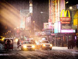 Instants of NY Series - NYC Urban Scene Photographic Print by Philippe Hugonnard