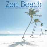 Zen Beach  Noah Bay - 2015 Linen Calendar Calendars