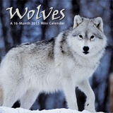 Wolves - 2015 Mini Calendar Calendarios