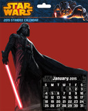 Star Wars Saga - 2015 Standee Calendar Calendars