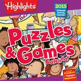 Highlights Puzzles & Games - 2015 Premium Calendar Calendars