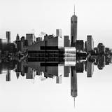 Double Sided Series - NYC Cityscape with the One World Trade Center (1WTC) Photographic Print by Philippe Hugonnard
