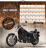 Harley-Davidson Premium Art - 2015 Calendar Calendriers