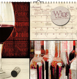 Wine by Lisa Wolk - 2015 Calendar Calendars