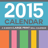 Large Print - 2015 Calendar Calendriers