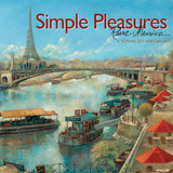 Simple Pleasures  Ruane Manning - 2015 Linen Calendar Calendars