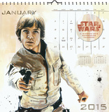 Star Wars Saga Premium Art - 2015 Calendar Calendars