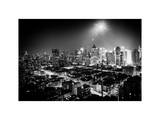 Landscape by Night of Manhattan Photographic Print by Philippe Hugonnard