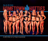 Maxim  Hometown Hotties - 2015 Day-at-a-Time Box Calendar Calendars