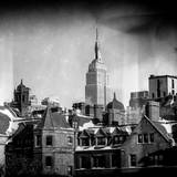 Instants of NY Series - Landscape View with the Empire State Building Photographic Print by Philippe Hugonnard
