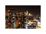 Skyscrapers and Buildings Views Photographic Print by Philippe Hugonnard