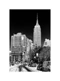 Empire State Building View in Winter Photographic Print by Philippe Hugonnard