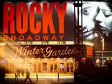 Instants of NY Series - Rocky Broadway Musical Photographic Print by Philippe Hugonnard