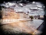 Instants of Series - L'île Saint Louis and Seine River Views - Paris, France Photographic Print by Philippe Hugonnard