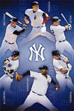 New York Yankees - Collage 14 Poster