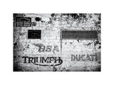 Motorcycle Wall Photographic Print by Philippe Hugonnard