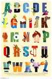Disney - Alphabet Pôsters