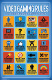 Video Game Rules Photographie