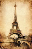 Eiffel Tower - Rustic Prints