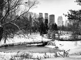 Central Park in the Snow Photographic Print by Philippe Hugonnard