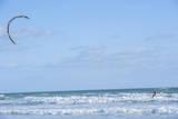 USA, Florida, New Smyrna Beach, kite surfer. Photographic Print by Lisa S. Engelbrecht