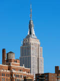 Top of the Empire State Building Photographic Print by Philippe Hugonnard