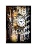Instants of NY Series - Trump Tower Clock Photographic Print by Philippe Hugonnard