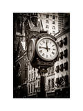Trump Tower Clock Photographic Print by Philippe Hugonnard