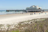 USA, Florida, Daytona Beach, Joe's Crab Shack on beach. Photographic Print by Lisa S. Engelbrecht