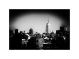 Landscape View with the Empire State Building Photographic Print by Philippe Hugonnard
