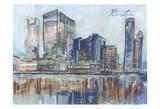 Boston Sky Scrapers Art by Smith Haynes