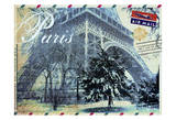 Paris Postcard Print by Jody Taylor