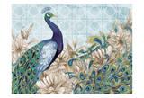 Peacock Splendor 2 Art by Nicole Tamarin