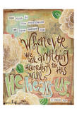 He Hears Us Print by Erin Butson