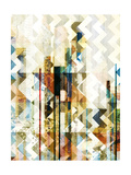 Urban Chevron II Print by  Vision Studio