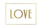 Gold Love Prints by Jace Grey
