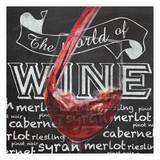 Wine Glass 1 Prints by Lauren Gibbons