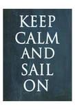 Sail On Prints by Jean Olivia