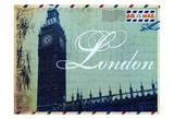 London Postcard Prints by Jody Taylor