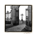 Gates to the Royal Palace, Budapest Photographic Print by Laura Denardo
