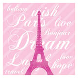 Paris Dream 5 Prints by Lauren Gibbons