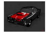 Muscle Car Black Prints by  OnRei