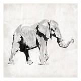 Elephant Trunk Up Prints by  OnRei