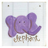 Happy Elephant Prints by Erin Butson