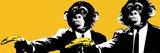 Monkeys Bananas Plakat