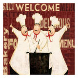 Welcome Chef Prints by Dan Dipaolo