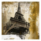 Paris Eiffel Tower Posters by Cynthia Alvarez